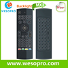 Factory TV used MX3 2.4g wireless keyboard air fly mouse remote control