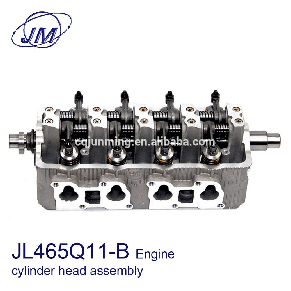 New JL465Q11-B Petrol Engine Cylinder Head Assembly with 90 Teeth Number for DFSK V26