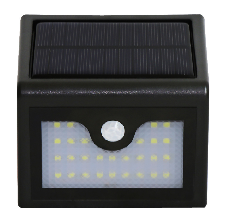 Solar Lights 8 LED Wireless Waterproof Motion Sensor Outdoor Light for Patio, Deck, Yard, Garden with Motion Activated Auto On/O