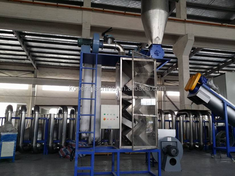 automatic pet plastic washing machine line with competitive price
