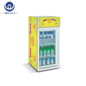Latest coke display cooler mini dairy refrigerator