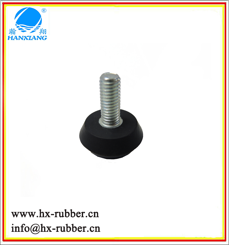 High Quality OEM rubber vibration damper/anti vibration rubber mount/two nut