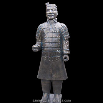 Meilun Xi'an Terracotta Army Soldiers Models Sculpture Collectible Life Size Home Outdoor Decoration Statue Producer