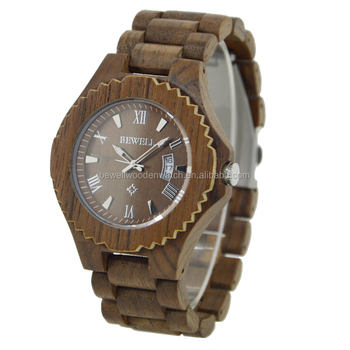 ROHS approved wood watch factory wholesale price