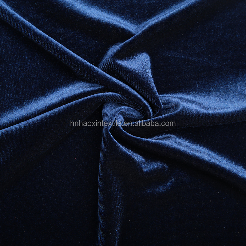 China manufacturer hot sale printed korean Yarn Dyed Velvet Fabric
