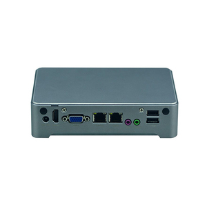 2* Intel WGI219LM Gigabit LAN supported industrial NANO thin mini pc with  1* SIM card socket