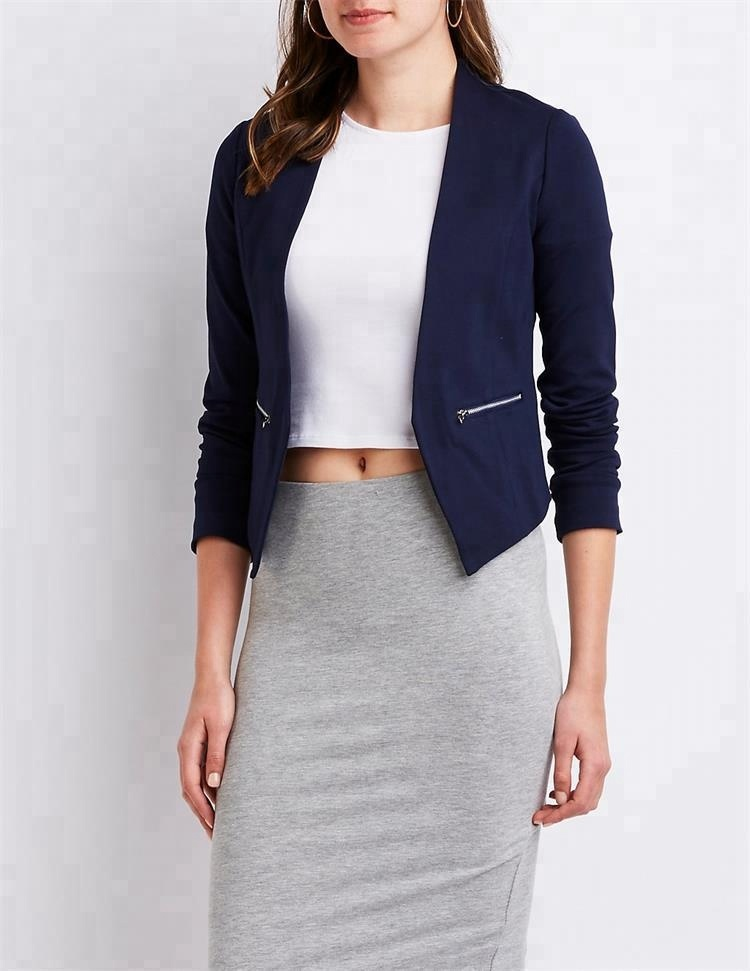 bc609775bce China Cropped Blazers For Women