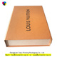 High quality luxury custom design orange paper gift box