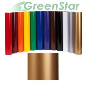 """Greenstar Gold Sign Vinyl 24"""" x 10Yd, Graphics and Lettering for Interior & Exterior Applications"""