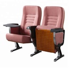 Aluminum alloy leg theater auditorium chair cinema movie chair with writing board