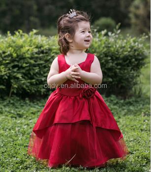 Charming 2015 Krikor Jabotian Flower Girl Dresses With Flowers A ...