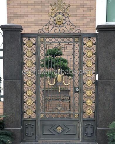 Galvanized Iron Metal Gates,Iron Swing Main Gate Design
