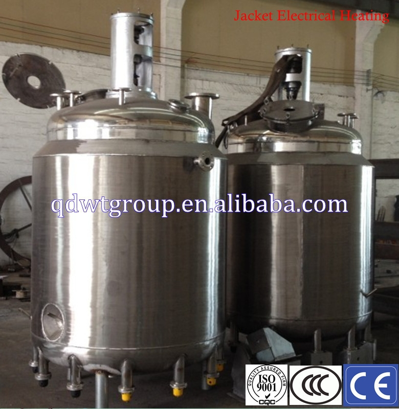 1000l batch out coil reactor for acrylic resin