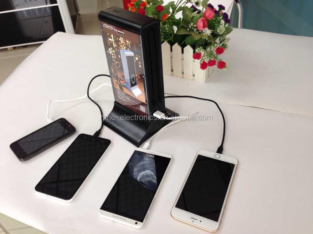 20800mah Restaurant Power Bank Multiple Cell Phone