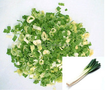 Freeze-dried spring/green onion (3-5mm) in bulk/vacuum package of 5kg/ctn