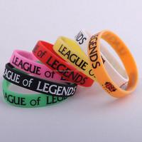 Top Quality Cheap Print Custom Silicone Wrist Band With Color Print On
