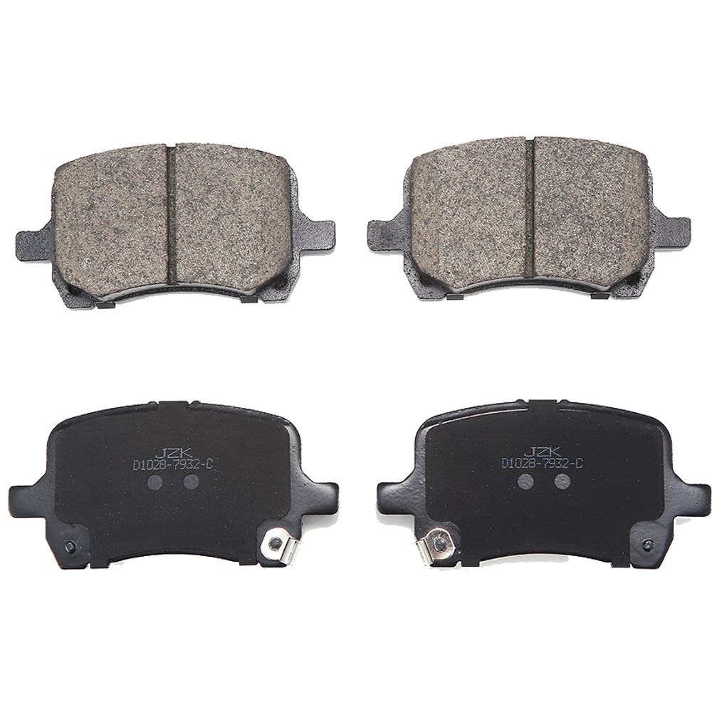 Machines remblokken biz brake pad voor CHEVROLETHHR