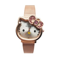 Hello kitty Women Lady Watch Lovely Fashion Kids Children Watch