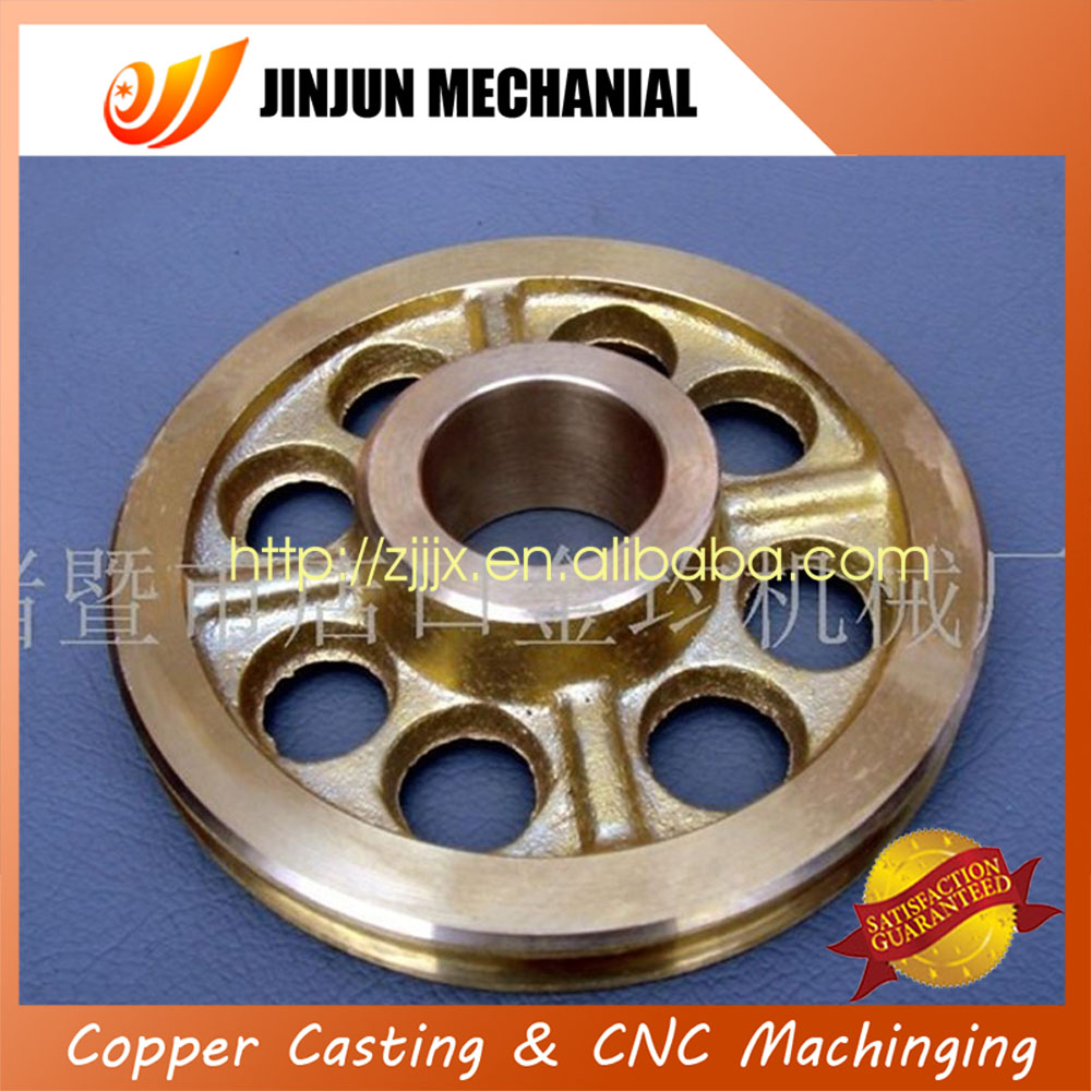 Factory Sale excellent quality brass casting wheel blanks