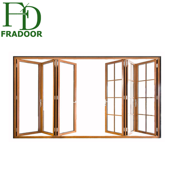 Commercial Accordion Folding Aluminum Doors Soundproof Partition For