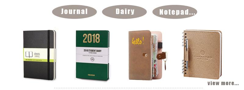 2019 A4 बड़े सप्ताह योजनाकार पु छात्र कला वस्तु नोटबुक