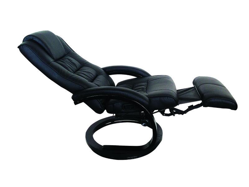 De haute qualité en cuir fauteuil inclinable pivotant inclinable