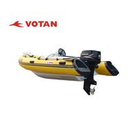 VOTAN Rigid Inflatable Fishing Boats for sale RIB Boat4.2m RIB420C PVC or Hypalon