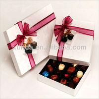 hot selling decorative chocolate boxes wholesale
