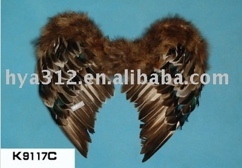 2014 Big Owl Feather Color Feather Wing