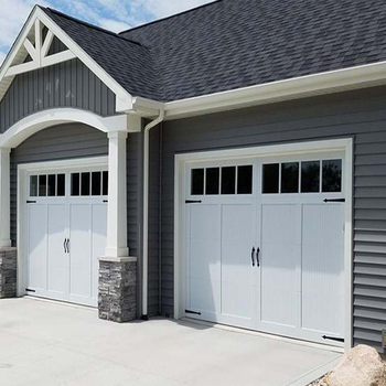 Automatic See Through Clear Insulated Glass Panel Garage Door Prices
