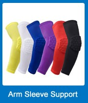 Adult children Honeycomb knee pad support brace for Basketball volleyball knee compression sleeve support