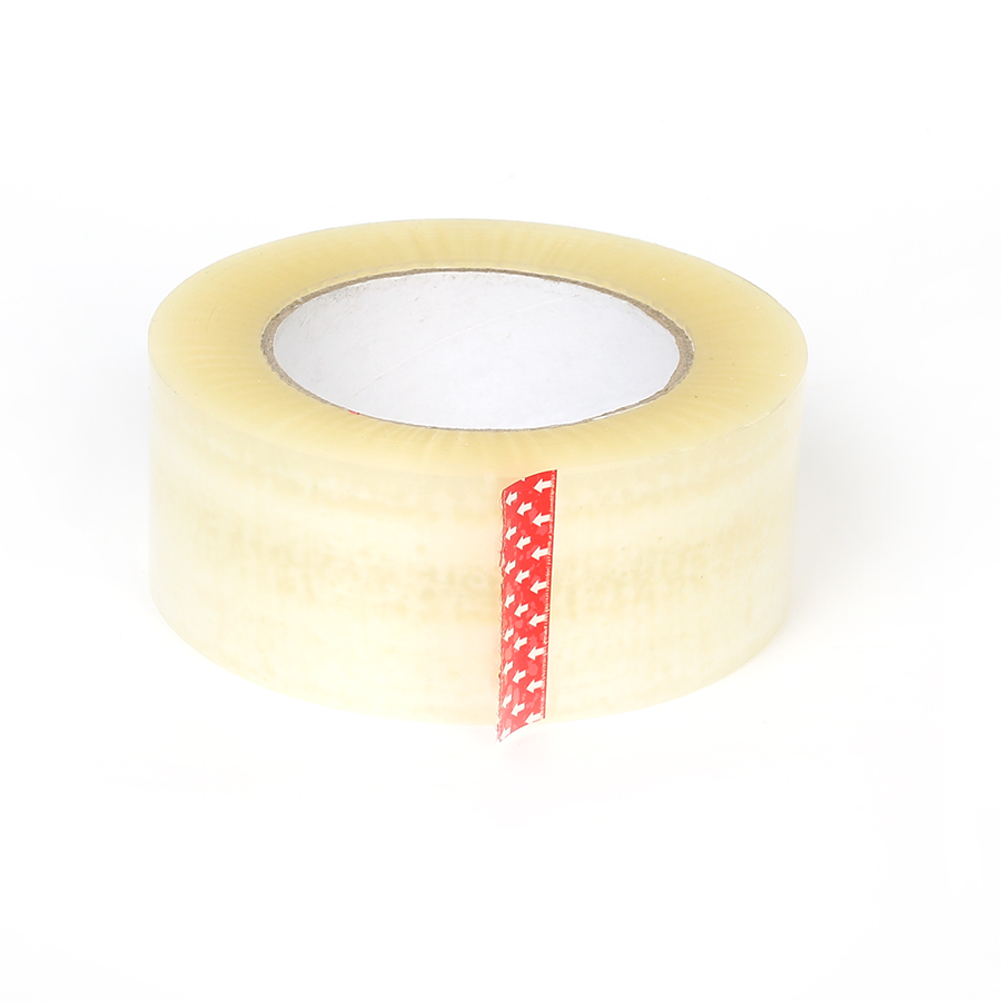 "2"" IN. x 55 YDS. cheap clear branded packing tape"