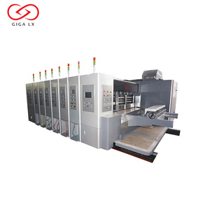 Corrugated Flexo Printing Machine Automatic 4 5 Colors Flexographic Printing machinery price LX-608CN