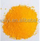 2015hot sale Shanghai weiyi lemon chrome yellow pigment