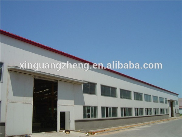 colour cladding high rise multi-storey steel warehouse building with office