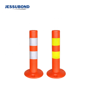 Cheap PE Warning Post Plastic Traffic sign safety Lane Delineator Post