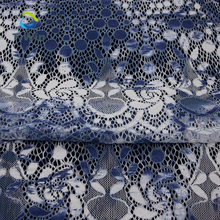 Fabrics world wholesale heavy french Stretch Fabric colorful cotton nylon lace printed fabrics for girls