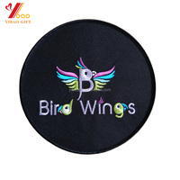 Customized 3D novel handmade embroidery patch twill fabric iron on patch for clothing accessories wholesale
