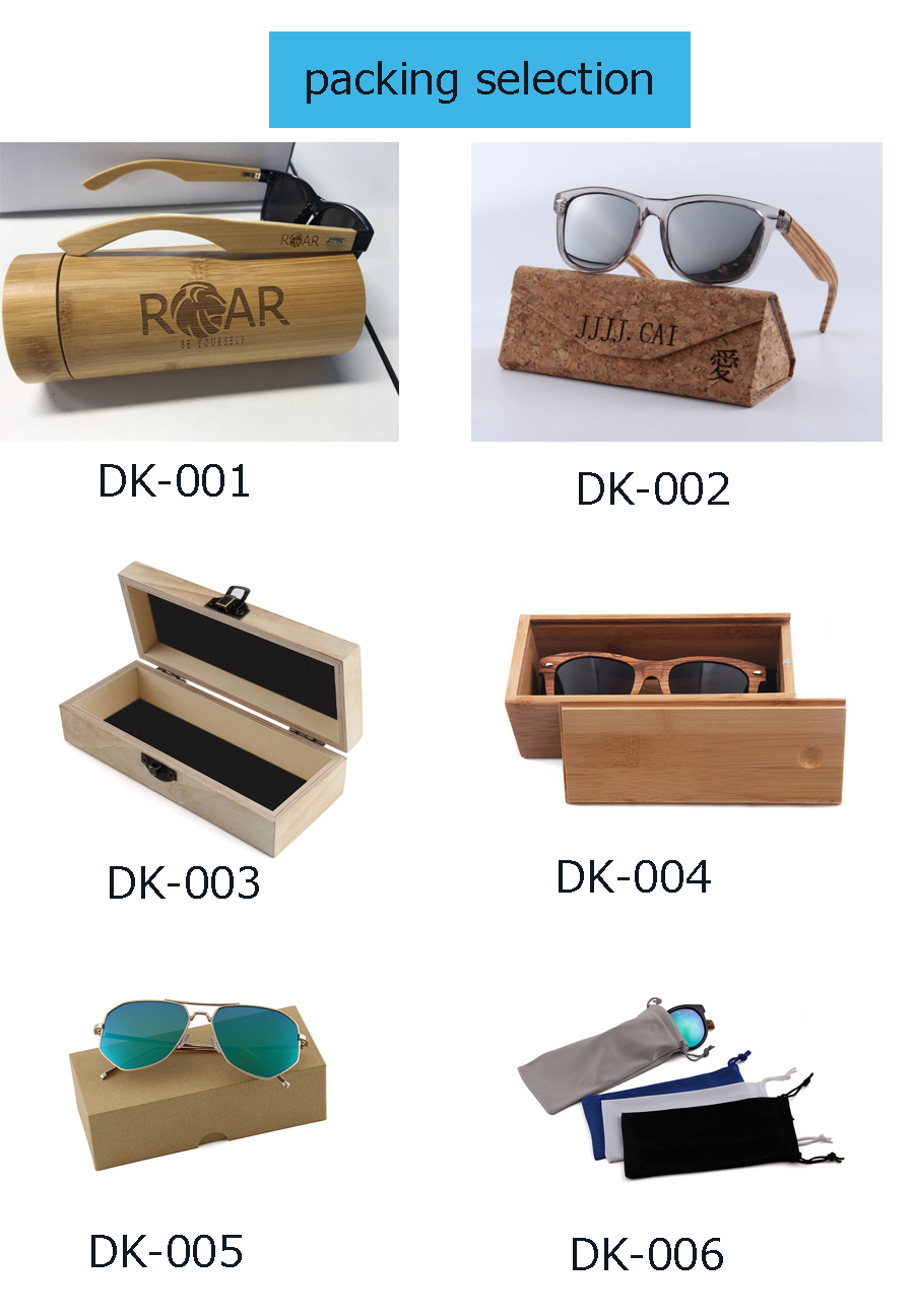 China Sunglasses Factory Cheap Wholesale Cat3 UV400 Polarized Bamboo Wood Sunglasses