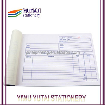 Alibaba China Hot Selling Invoice Paper Products Printing - Buy ...