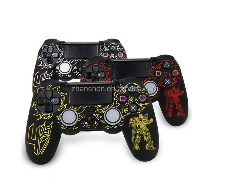 Protective Soft Silicone Case for PS4 Controller Skin