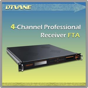 (DMB-9004) DVB-S DVB-S2 Transmitter and Receiver/4 Channel Professional FTA DVB-S DVB-S2 Transmitter and Receiver