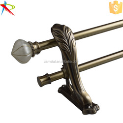 New designs single double curtain accessories curtain rods