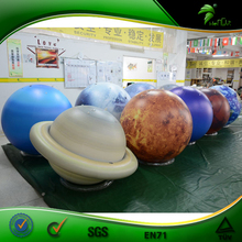 Dia 2 m <span class=keywords><strong>PVC</strong></span> Opblaasbare Strand Bal Giant Reclame Globe Helium <span class=keywords><strong>Ballon</strong></span> 3d Planeet