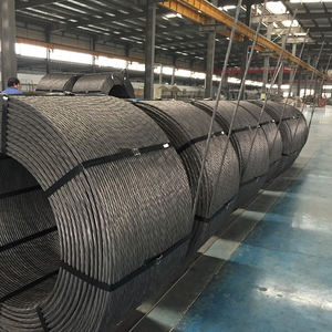 Price of prestressing strand high tensile steel wire rope for post tension