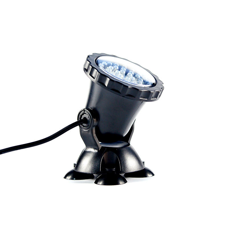Aquarium decoratie 8 w dompelpompen mini Led Onderwater Spot light voor aquarium