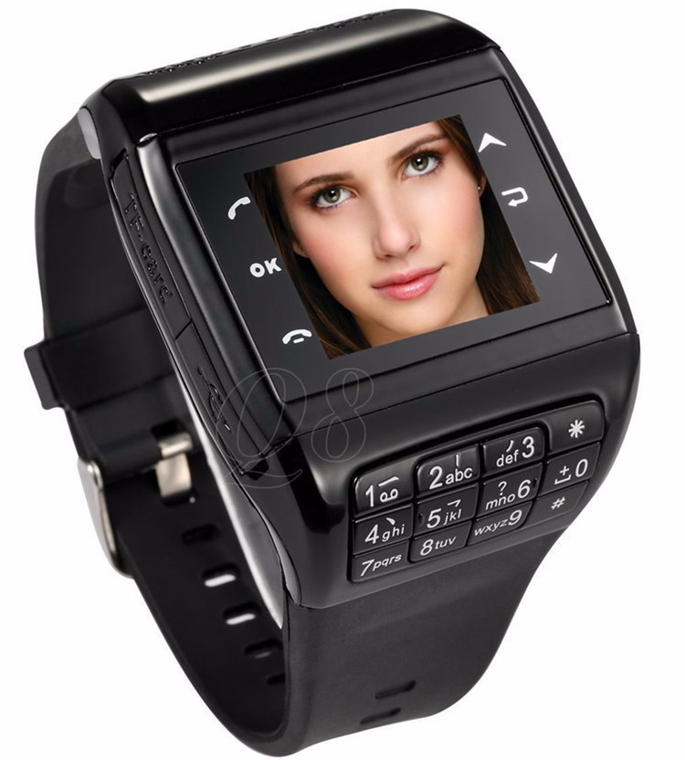 2014 Q8 Watch Phone Wrist Cell Phone Mobile AT&T Mobile ...