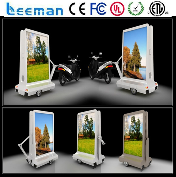 mobile ads free sample free shipping truck led board display