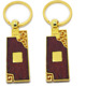 factory wholesale blank wood keychain with custom engrave logo
