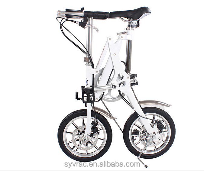 Europe and the United States standard folding bike / fast folding bike / aluminum folding bike 16